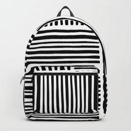 Crossed Lines II Backpack