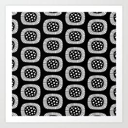 Atomic Sunburst 6 Art Print