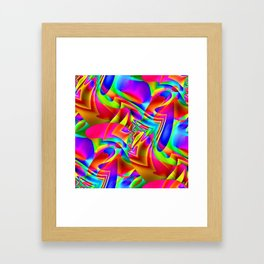 Scatty Framed Art Print