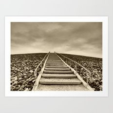 stairway to hell Art Print