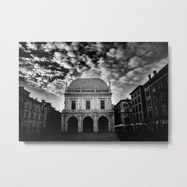 Piazza Dell Loggia Metal Print