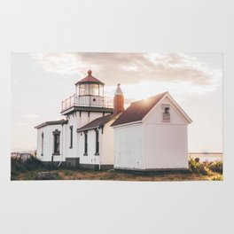 Discovery Park Lighthouse Rug