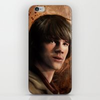 winchester iPhone & iPod Skins featuring Sam Winchester by Jackie Sullivan