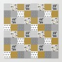 Badger House cheater quilt patchwork wizarding witches and wizards by minirainbowstudio