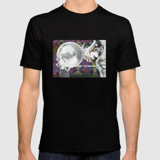 How We See Others, and Perhaps Ourselves MEDIUM Mens Fitted Tee Black