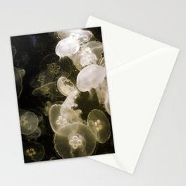 Yellow Jellyfish Stationery Cards