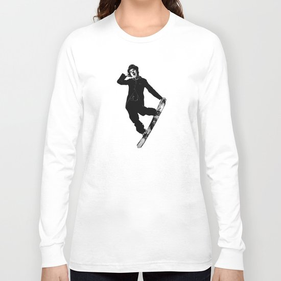 Gnarly Chaplin Long Sleeve T-shirt