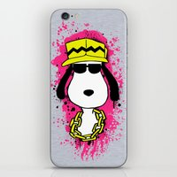 snoopy iPhone & iPod Skins featuring Snoopy Dog by Mateus Quandt