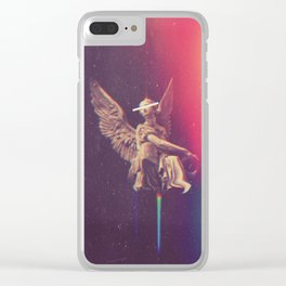 by that sin fell the angels Clear iPhone Case