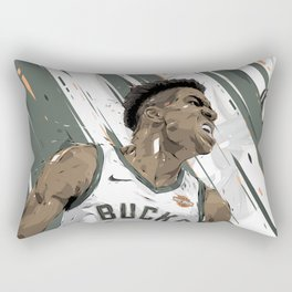 NBA All-Star series - Giánnis Antetokoúnmpo Rectangular Pillow