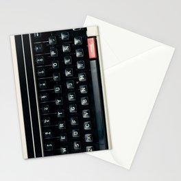 The Nostalgic Typewriter (Retro and Vintage Still Life Photography) Stationery Cards