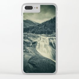 The River in the Mountains Clear iPhone Case