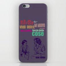 ecce bombo iPhone & iPod Skin