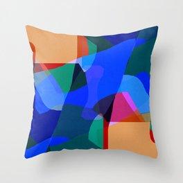 Set Free The Blue Bird Throw Pillow