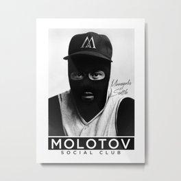 Molotov Social Club Metal Print