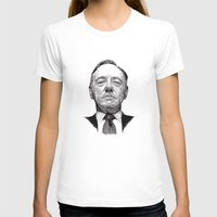 house of cards T-shirts featuring House of Cards - Francis Underwood by Rik Reimert