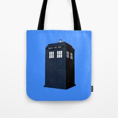 Dr Who - The Doctor's Tardis - Police Phone Box Tote Bag