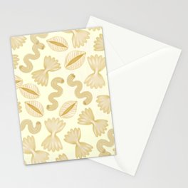 Pasta for dinner Stationery Cards