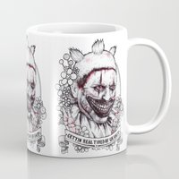 ahs Mugs featuring xoxo Twisty by marziiporn
