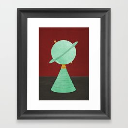 Saturn Lamp Twin Peaks Framed Art Print