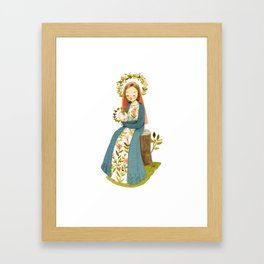 Our Lady of the Woods Framed Art Print