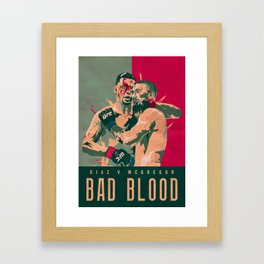 Bad Blood Framed Art Print
