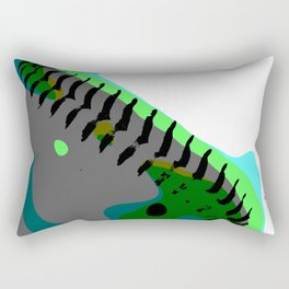 Abstract Baseball Rectangular Pillow