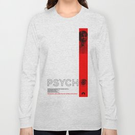 Hitchcock: Psycho Long Sleeve T-shirt