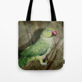 Indian Ringneck Parrot - Cherokee Tote Bag