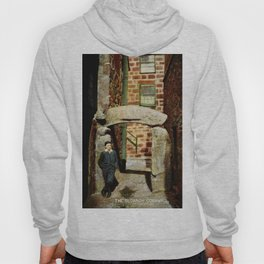 1900 St. Ives Cornwall, The Old Arch, local boy Hoody