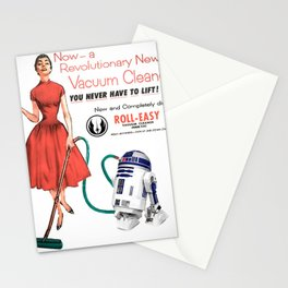 R2D2 Vacuum Stationery Cards