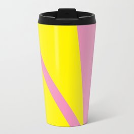 Pink Angles Travel Mug