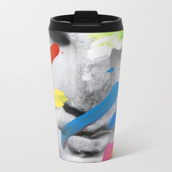 Composition 534 Metal Travel Mug