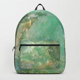 Absinthe Green Quartz Crystal Backpack