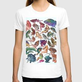 Reverse Mermaids T-shirt