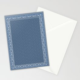 Oriental Blue Stationery Cards