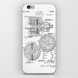 Dunn Patent iPhone Skin