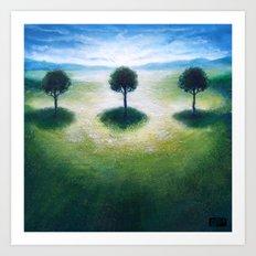 Treelogy 3 Art Print
