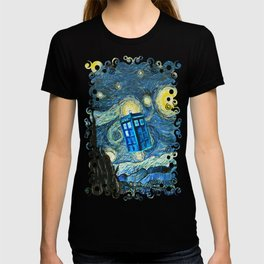 Flying Tardis doctor who starry night iPhone 4 4s 5 5c 6, pillow case, mugs and tshirt T-shirt