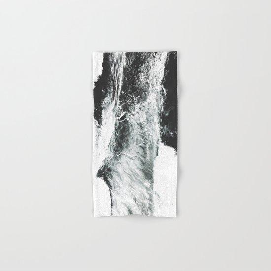 Abstract ocean Hand & Bath Towel
