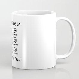 Resting Bitch Face Coffee Mug