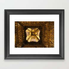 The Heart of the Tower Framed Art Print