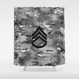 Staff Sergeant (Urban Camo) Shower Curtain