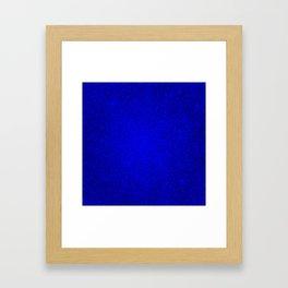 Opal Blue Sparkling Jewels Pattern Framed Art Print