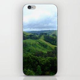 Green Hills iPhone Skin