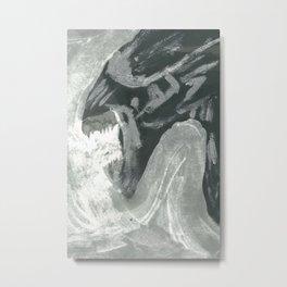Resist Xenomorph Metal Print