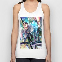 architect Tank Tops featuring Heavens Architect by True Last Boss