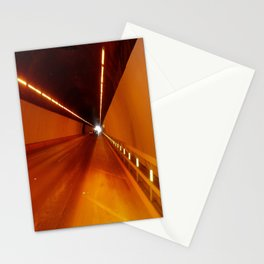 The light at the end of the tunnel Stationery Cards