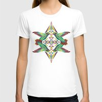 hummingbird T-shirts featuring hummingbird  by Manoou