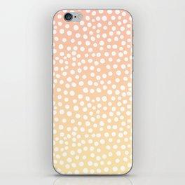 DOT PATTERN - dreamy look iPhone Skin